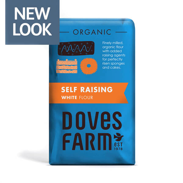 Doves Organic Self Raising White Flour