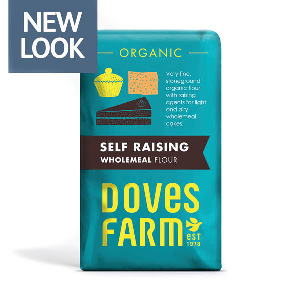 Doves Organic Self Raising Wholemeal Flour