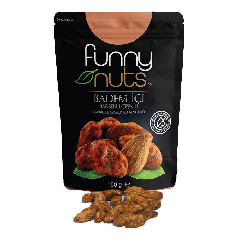 Funny Nuts BBQ Seasoned Almonds