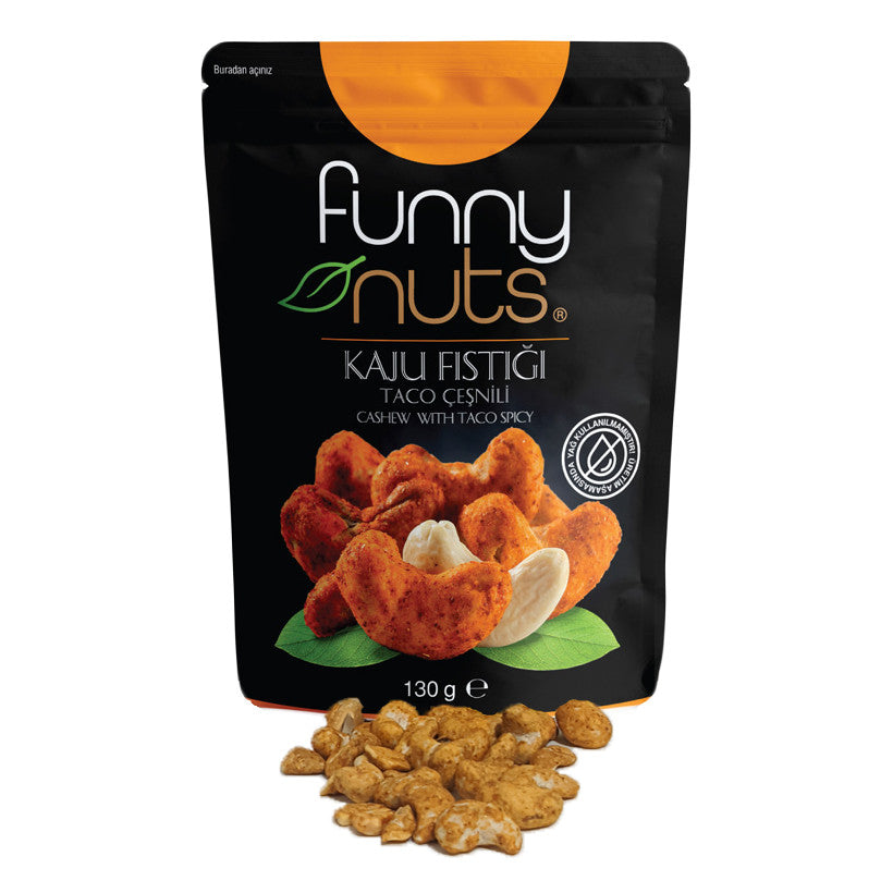 Funny Nuts Taco Flavoured Cashews