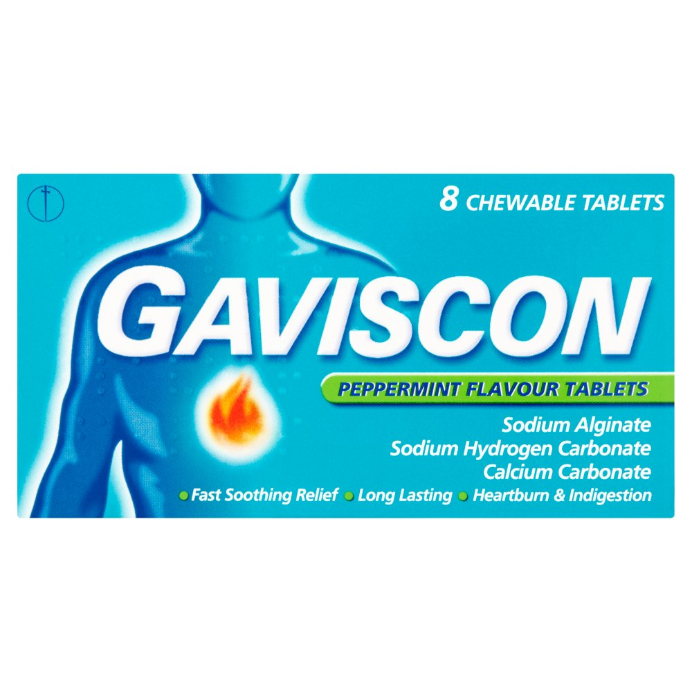 Gaviscon Original Peppermint Tablet