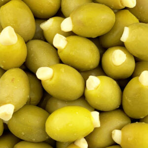 Bonvila Green Olives Stuffed with Garlic