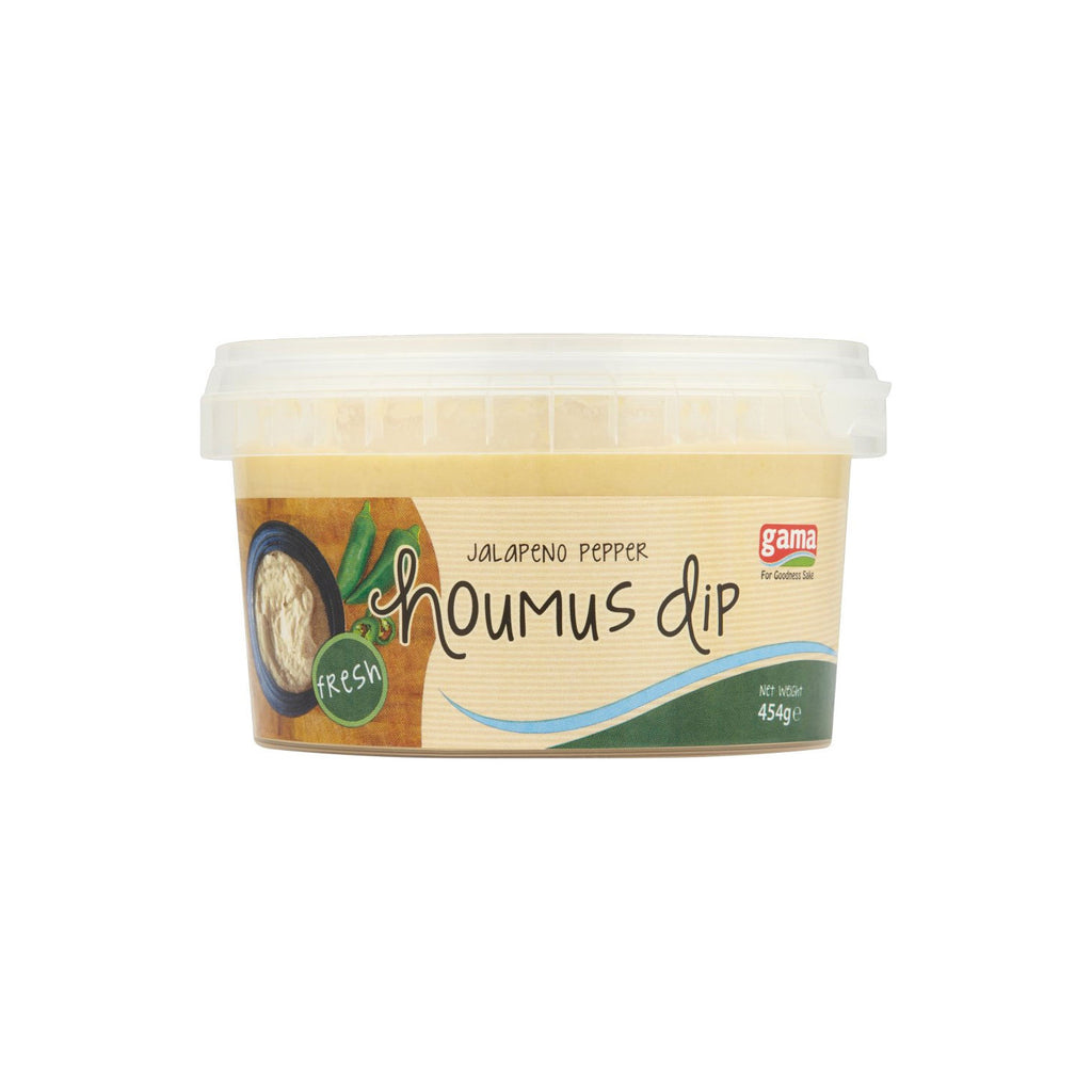 Houmous with Jalapeno