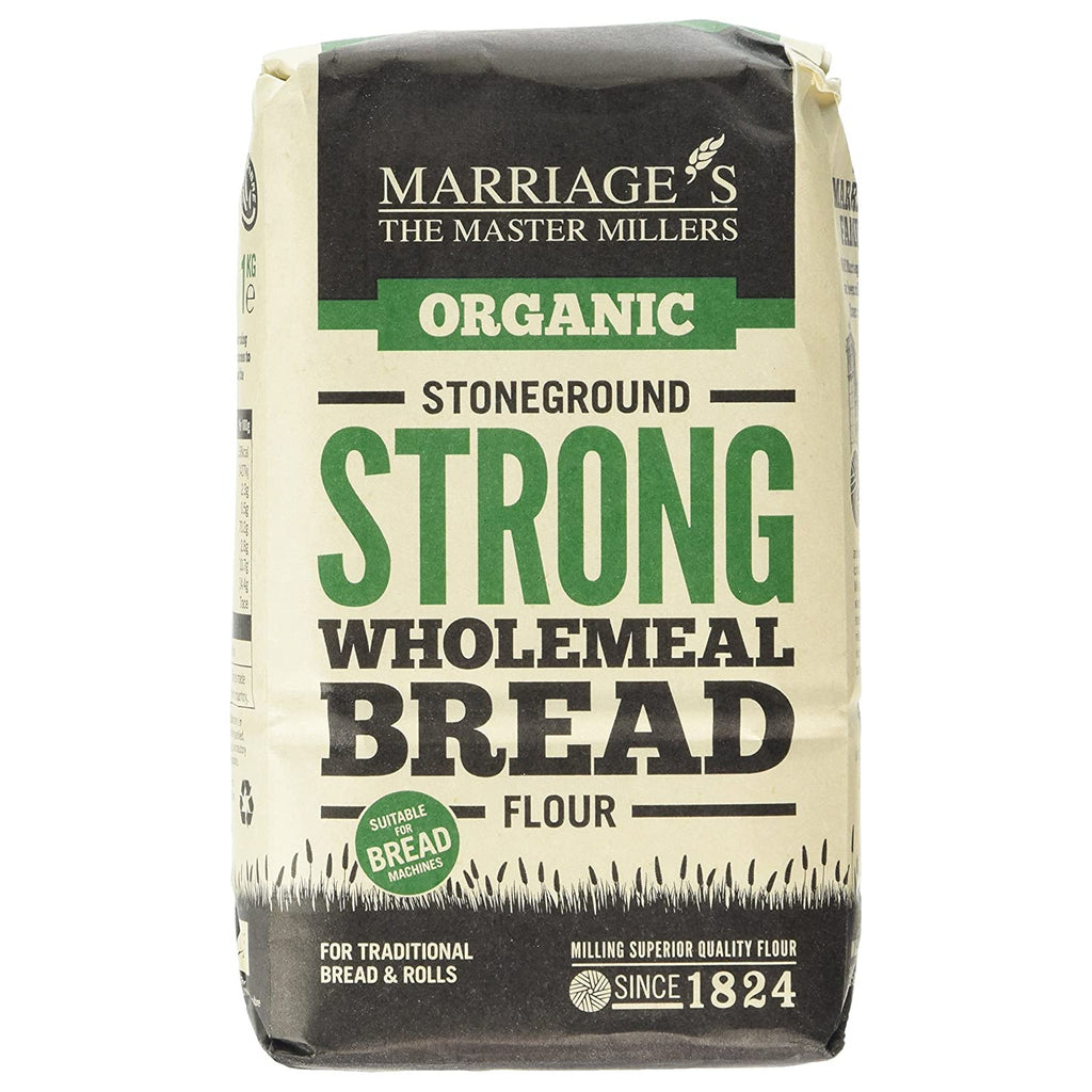 Marriage's Organic Strong Wholemeal Bread Flour
