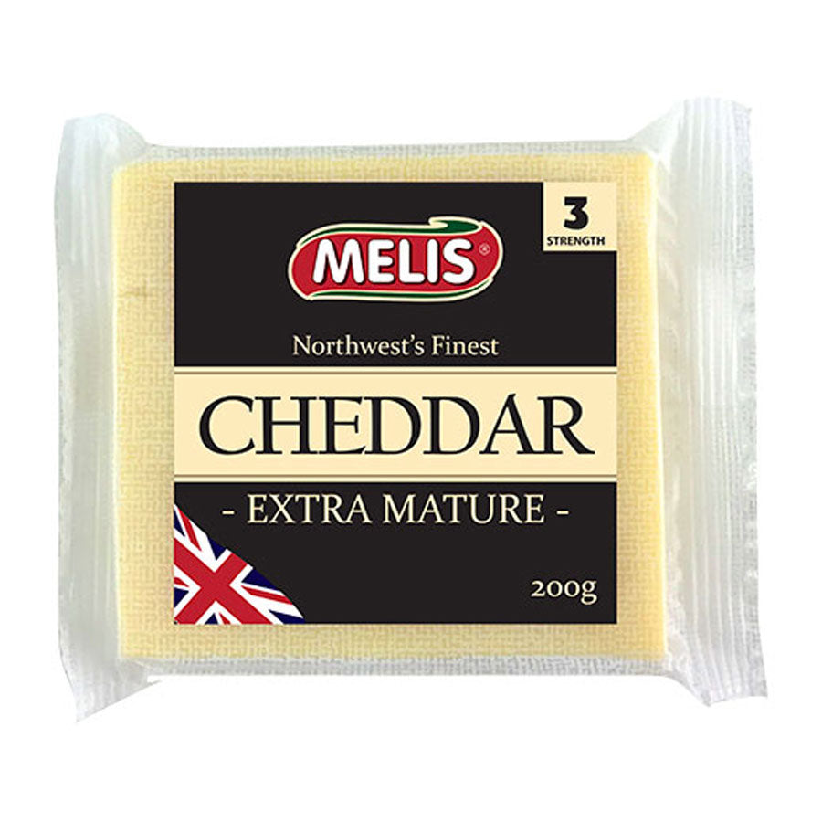 Melis Extra Matured Cheddar Cheese