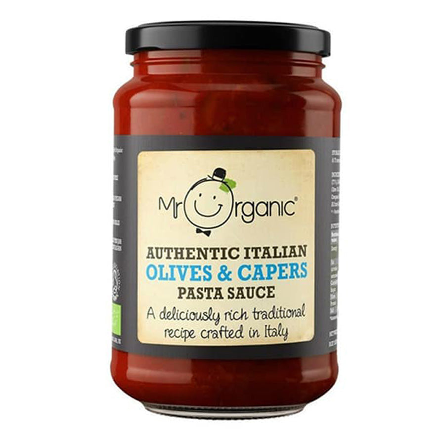 Mr Organic Olives & Capers Pasta Sauce