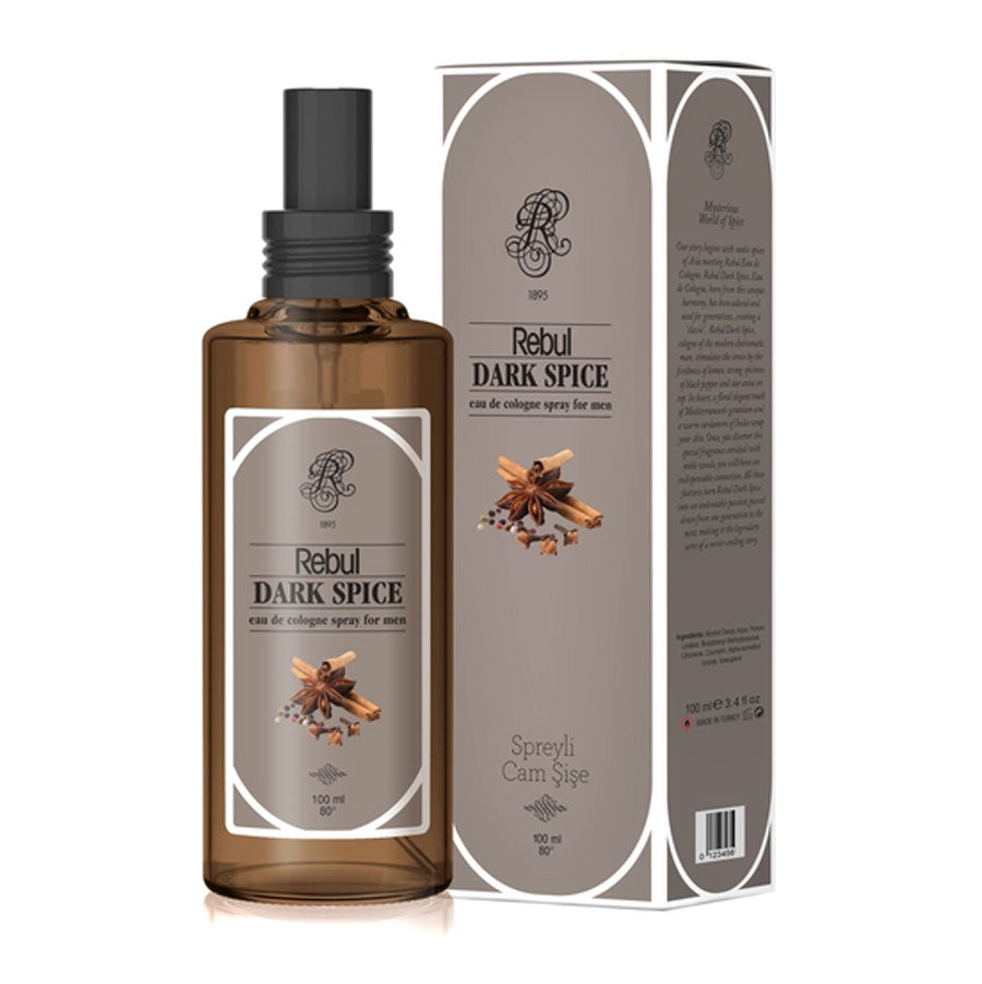 Rebul Dark Spice Cologne 100ml