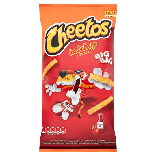 Cheetos Ketchup Flavoured XXL