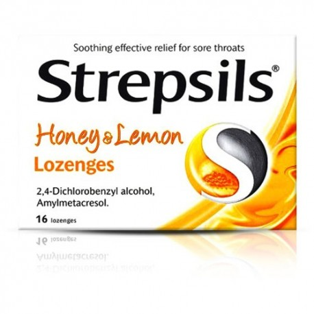 Strepsils Honey and Lemon