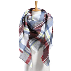Top quality Winter Plaid Scarf