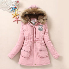 Winter Thicken Cotton-Padded Jacket