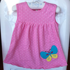 Cute Baby Girl Cotton Dress
