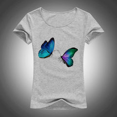 Butterfly printed Women T shirts