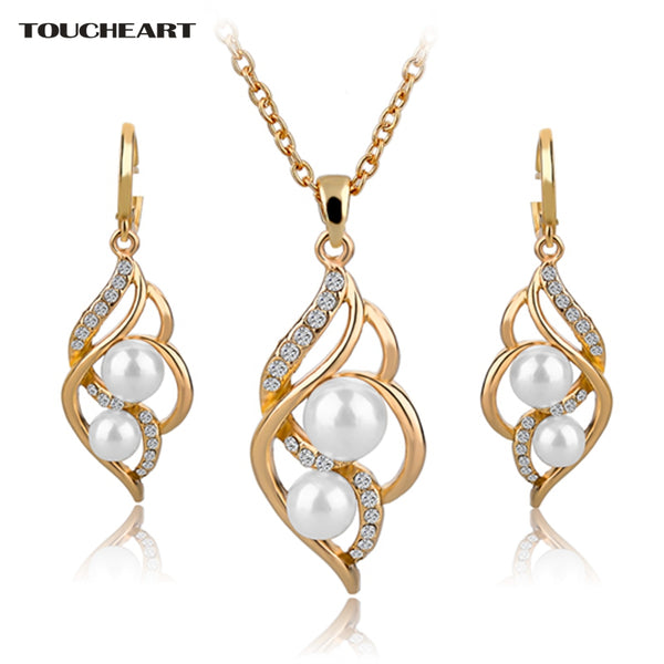 Simulated Pearl Jewelry Sets