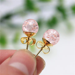 Fashion christmas stud earrings