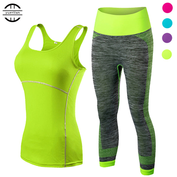 2 Pcs Fitness Yoga Set