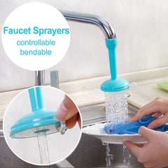 Creative water saving kitchen faucet sprayers