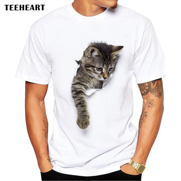 3D Cute Cat Fashion T-shirts