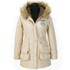 Long Down Cotton Winter Jacket