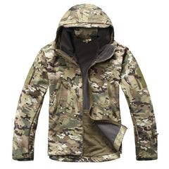 Soft Shell Waterproof Windproof Jacket