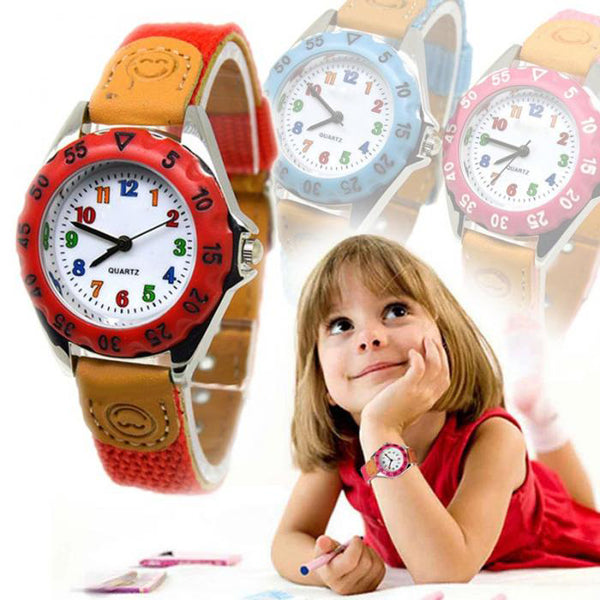 Cute Boys Girls Quartz Watch