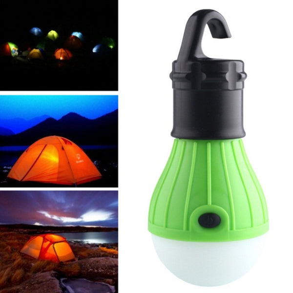 Green LED Camping Lantern Light