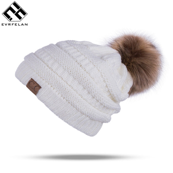 Winter Thick Knitted Beanies