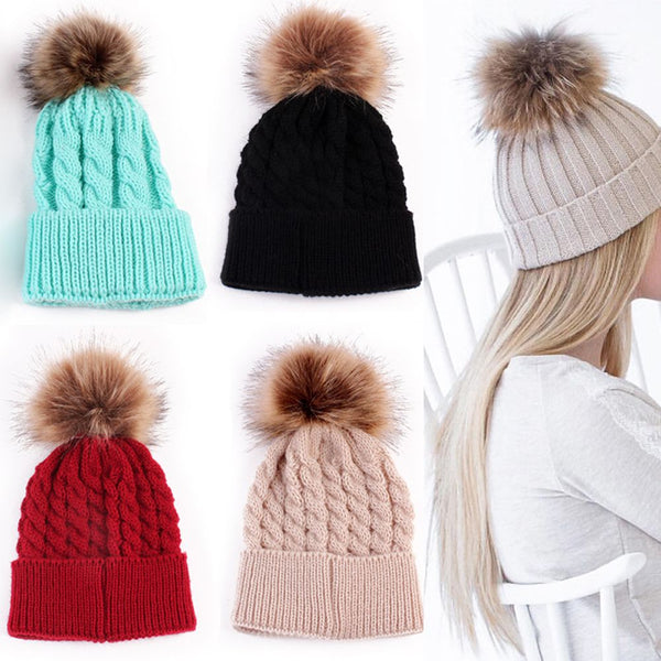 Fashion Knitting Warm Women Winter Hat