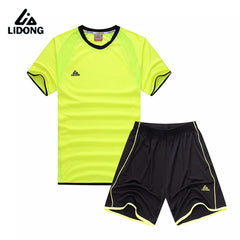 Breathable Short Sleeve Soccer Set