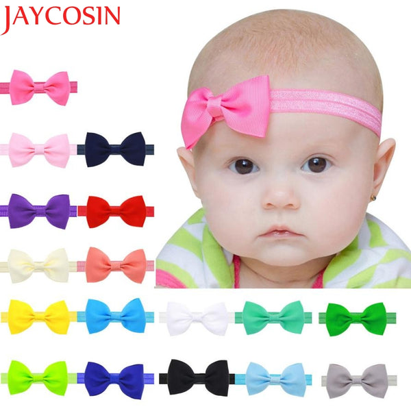 Multicolor Bowknot Mini Headbands