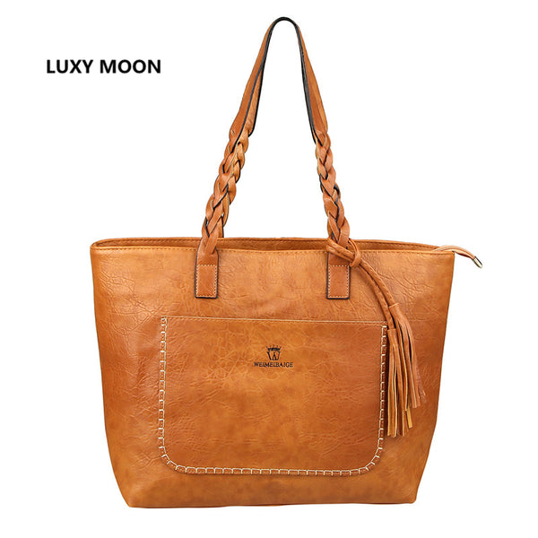Luxury Design PU Leather Handbag