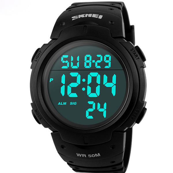 Luxury Digital LED Mens Sports Watches