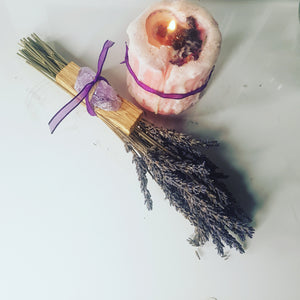 Palo Santo Smudge Bundle 🕯🔮🏡