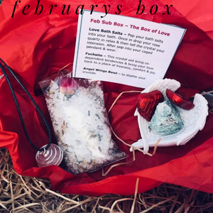 Monthly mini subscription boxes