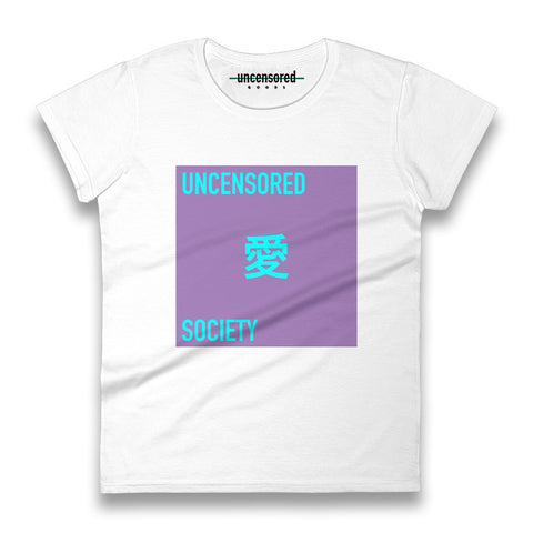 UNCENSORED <3 SOCIETY T-SHIRT