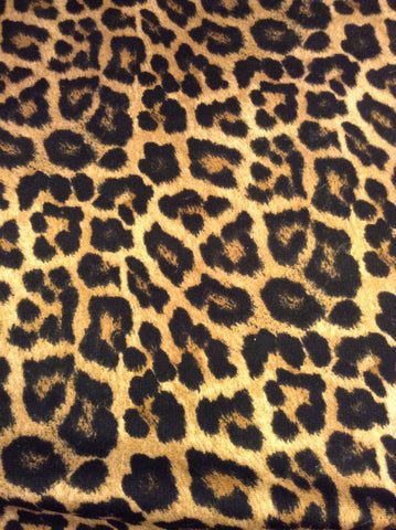 "Printed HTV - Cheetah Print - One - 12"" x 14"" Sheet"