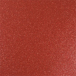 Siser Easy PSV Glitter (Pressure Sensitive Vinyl) - Brick_Red