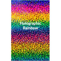 "Siser Holographic - Rainbow- 12""x20"" Sheet"