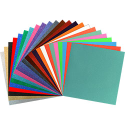 "StyleTech 2000 Ultra Glitter - All Colors Pack - 12""x12"" Sheets"