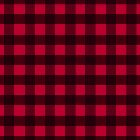 "Buffalo - Plaid One Oracal 3651 12""x 12"" Sheet"