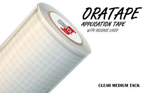 Oratape MT80P Clear Medium Tack Application Tape