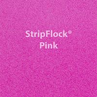 "Siser StripFlock - Pink - 12""x15"" Sheet"