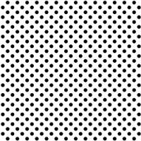 Siser EasyPattern - Polka Dot Black and White
