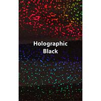 "Siser Holographic - Black - 12""x20"" Sheet"