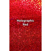 "Siser Holographic - Red- 12""x20"" Sheet"