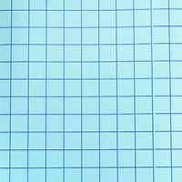 Blue Grid - Clear Medium Tack Transfer Tape with Release Liner