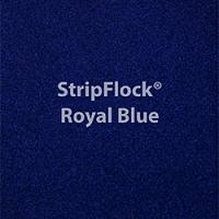 "Siser StripFlock - Royal Blue - 12""x15"" Sheet"