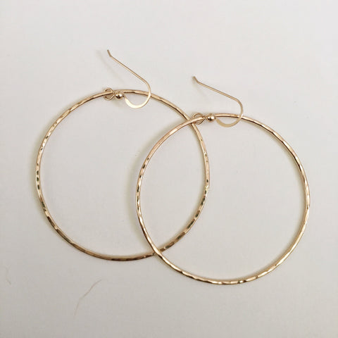 14k gold fill Hoop earrings