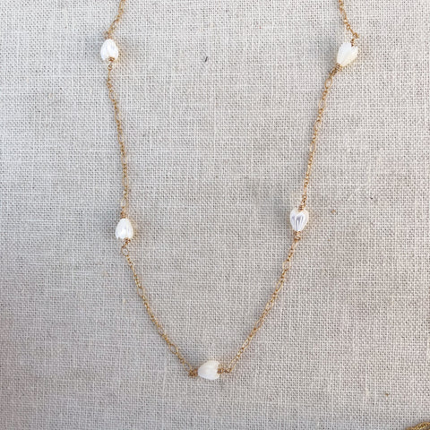 Long pikake necklace