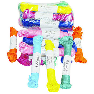 E-Z Catch R-48-MC Hanked Rope Multi Colored 48' Soft Poly